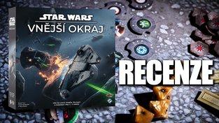 Star Wars: Vnější okraj – recenze deskovky z předaleké galaxie