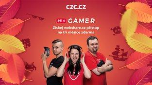Startuje Be a Gamer od CZC.cz – vyhrajte ceny za více než 60 tisíc a nakupte svýraznými slevami
