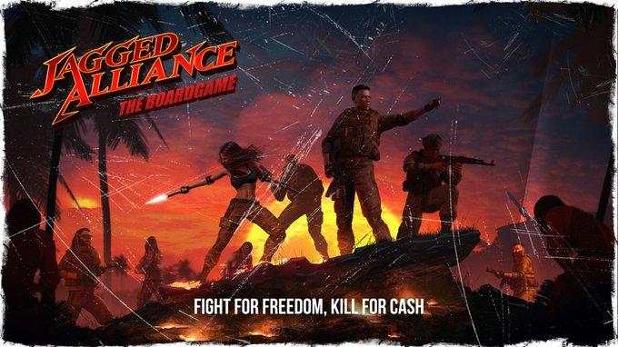 Deskovka Jagged Alliance: Legenda se vrací v plné, stolní síle
