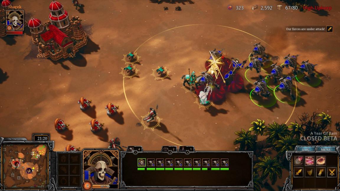 Seznamte se s kopírkou Warcraftu III, strategií A Year of Rain