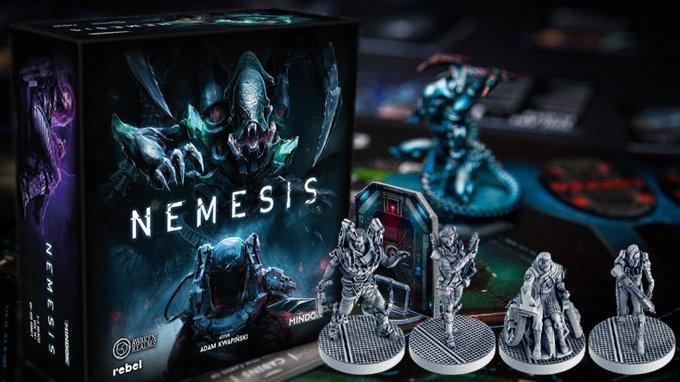 Staňte se lovnou zvěří v epické deskovce Nemesis inspirované kultovními horory s vetřelci
