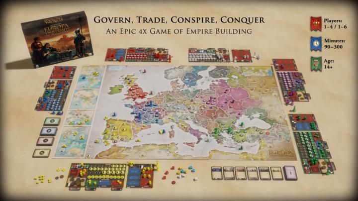 Europa Universalis se vrací ke kořenům s novou deskovkou The Price of Power