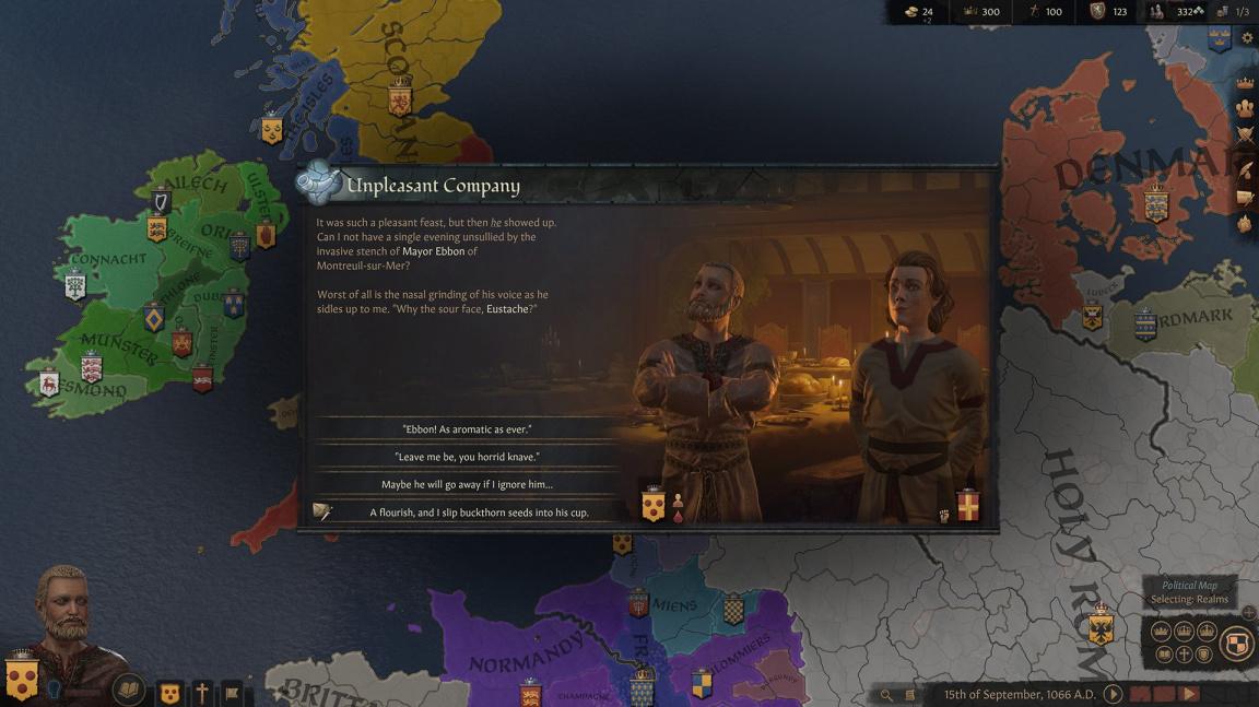 Nepronikli jste do Crusader Kings II? Třetí díl bude přívětivější pro nováčky i veterány