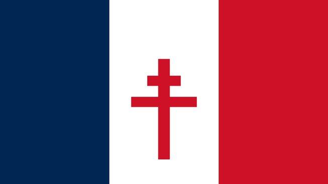 Free French vlajka