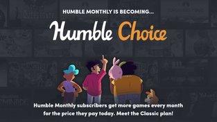 Humble Monthly nahradí nová, dražší služba Humble Choice, na které vydělají stávající předplatitelé