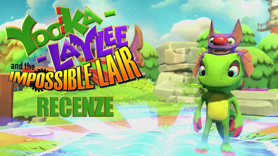 Yooka-Laylee and the Impossible Lair – recenze