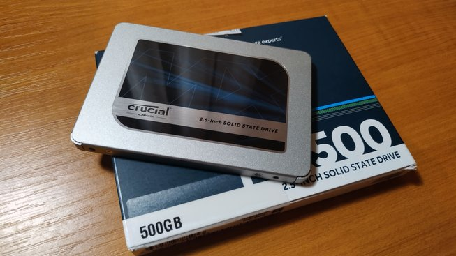 SSD Crucial by Micron
