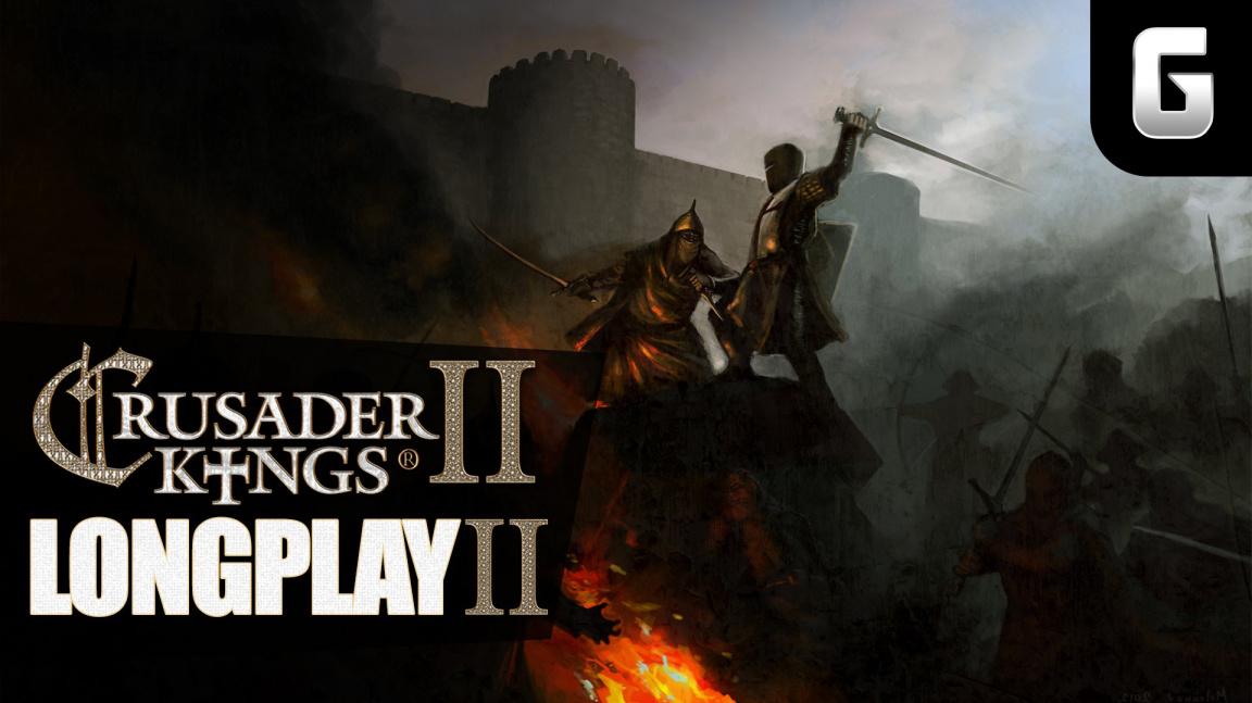 LongPlay – Crusader Kings II podruhé #3: Krize (a kříže), kam se podíváš
