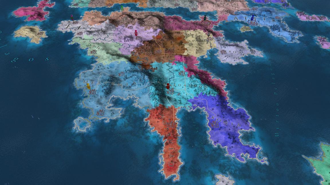 Česká antická strategie Imperiums: Greek Wars zamířila do bety