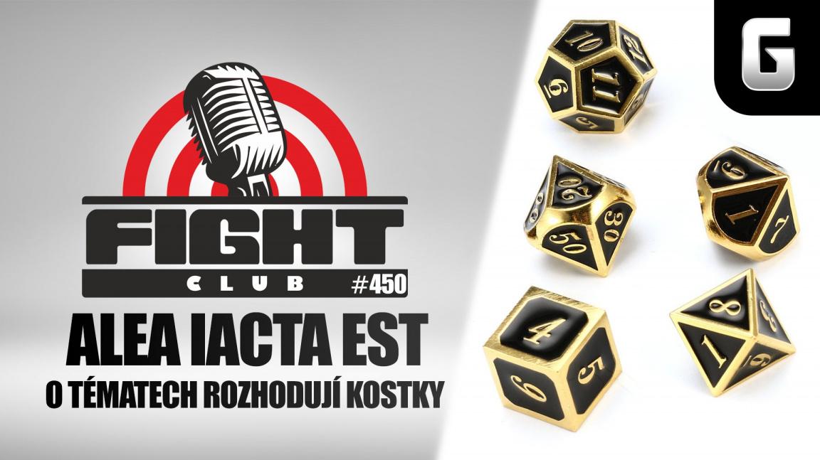 Sledujte randomizovaný Fight Club #450 s příliš velkým množstvím témat