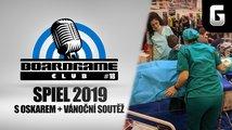 BoardGame Club #18: SPIEL 2019 s Oskarem + vánoční soutěž