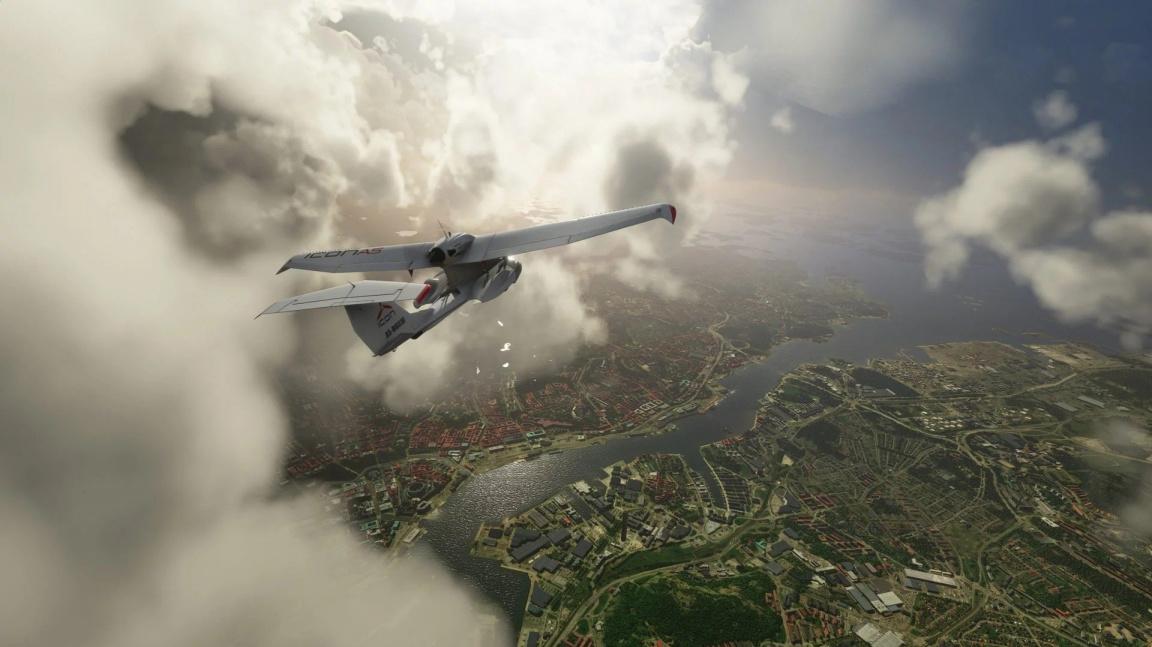 Microsoft Flight Simulator se opět předvádí ve své dechberoucí kráse