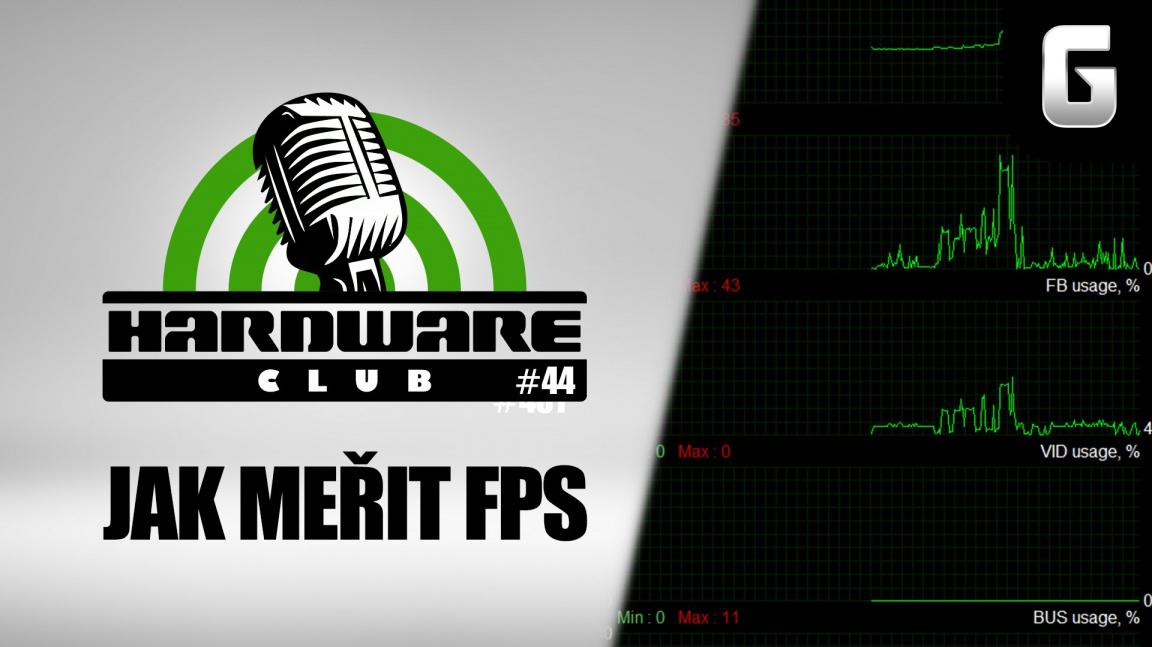 Hardware Club #44: Jak měřit FPS