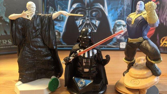 Thanos vs. Darth Vader vs. Voldemort