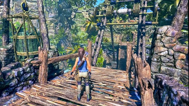 Tomb Raider Stadia vs PC 4K