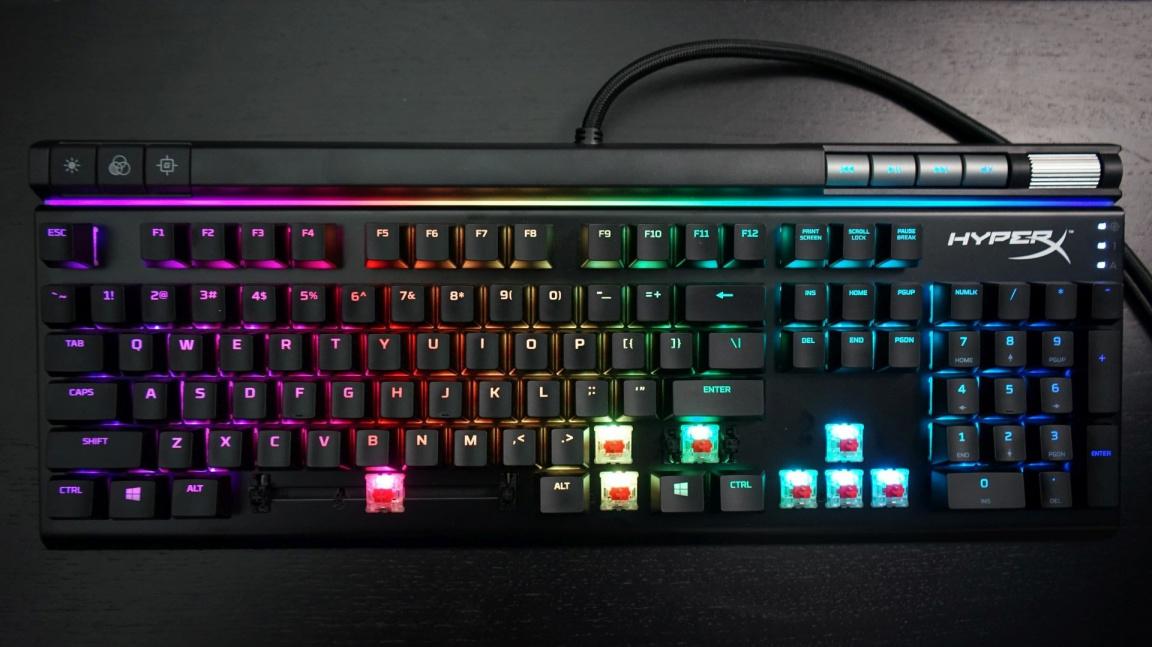 Recenze mechanické klávesnice HyperX Alloy Elite RGB