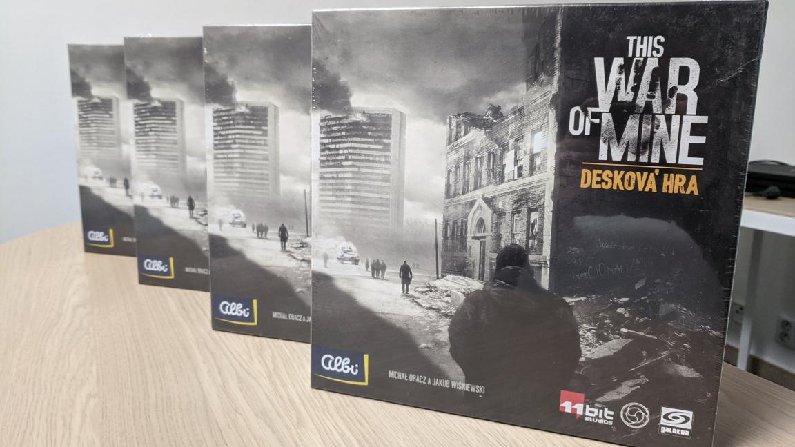 Konec soutěže o deskovky This War of Mine a vyhodnocení ankety