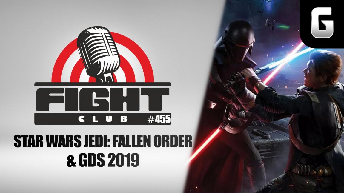 Sledujte Fight Club #455 o Star Wars Jedi: Fallen Order i GDS