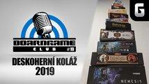 BoardGame Club #19: Deskoherní koláž 2019