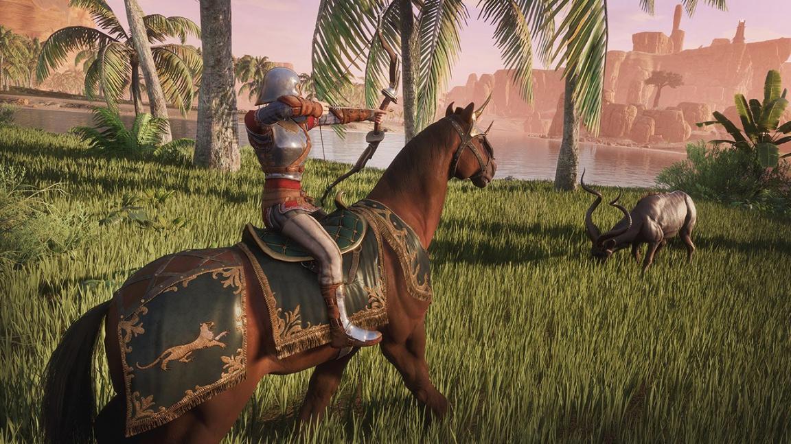 Nejnovější update pro Conan Exiles přináší jízdu a boj v sedle