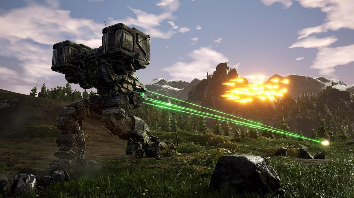 Bitva obřích mechů začíná, vychází MechWarrior 5: Mercenaries