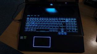 Podsvícení Acer Predator Helios 700