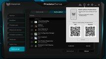 Aplikace PredatorSense (Helios 700)