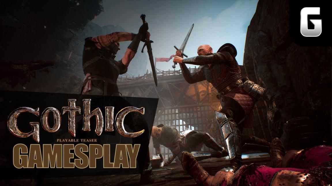 GamesPlay – hrajeme demo remaku Gothic 1