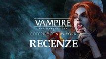 Vampire: The Masquerade – Coteries of New York – recenze