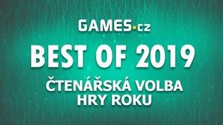 Best of 2019: Vyhlášení čtenářské hry roku