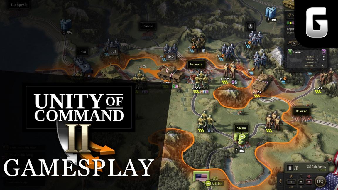GamesPlay – hrajeme druhoválečnou strategii Unity of Command II