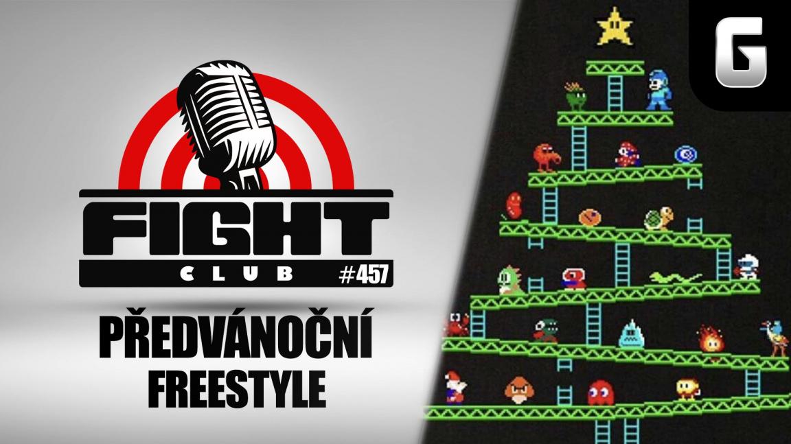 Sledujte předvánoční Fight Club #457 o všem možném