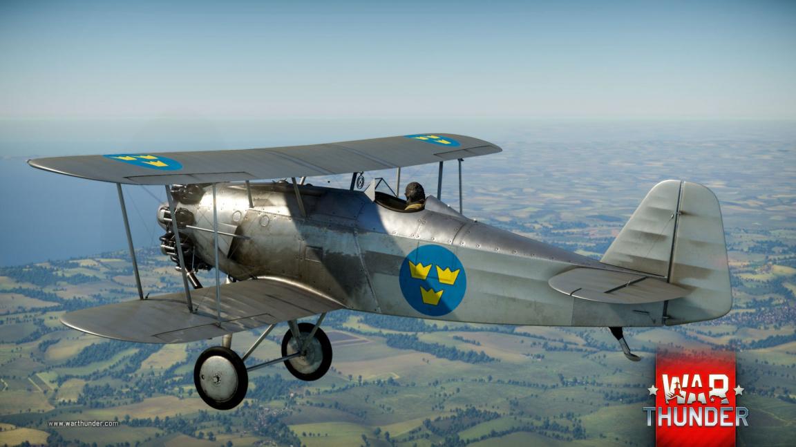 Severní vítr do War Thunder přivál ray tracing a švédská letadla