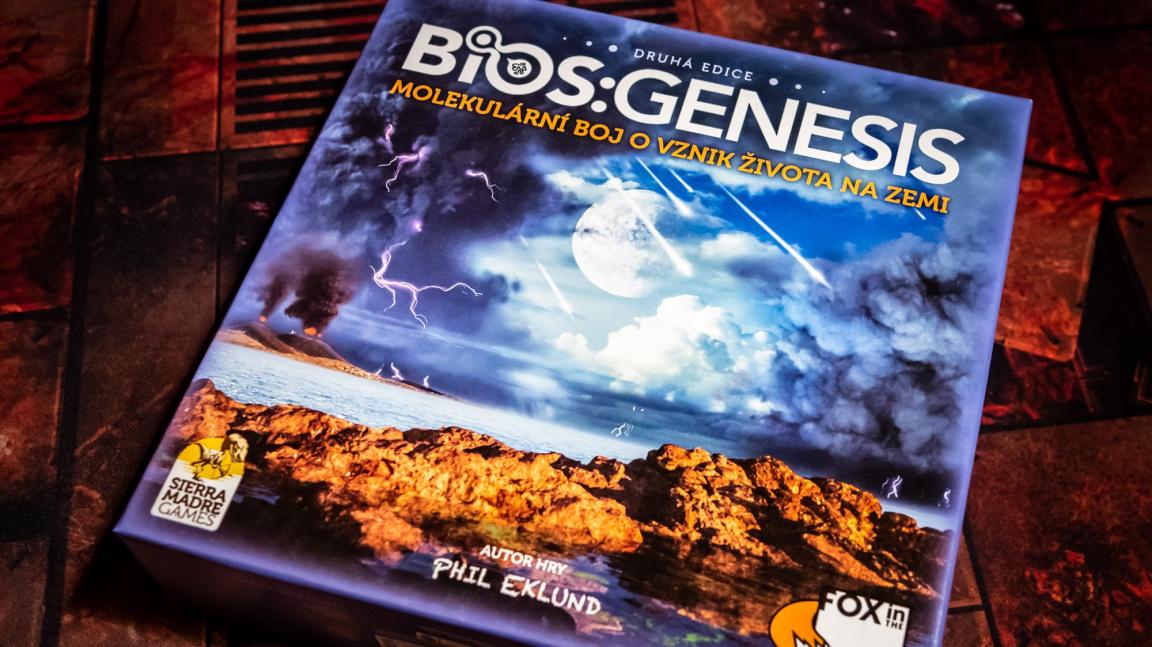 Deskovka Bios: Genesis: Návštěva u vzniku života