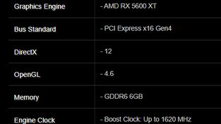 Asrock Radeon RX 5600 XT leak
