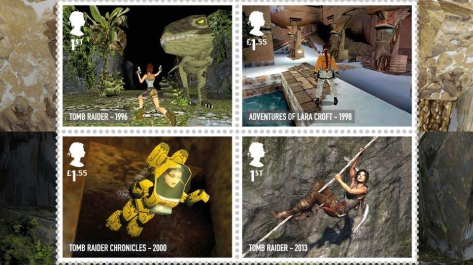 Britská pošta vydala známky podle počítačových her
