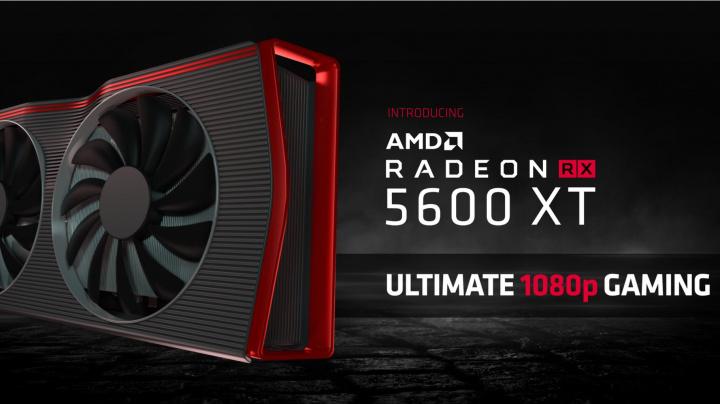 AMD Radeon RX 5600 XT je tady. Výkon nad GTX 1660 Ti za 279 USD, dostupnost už v lednu (CES 2020)