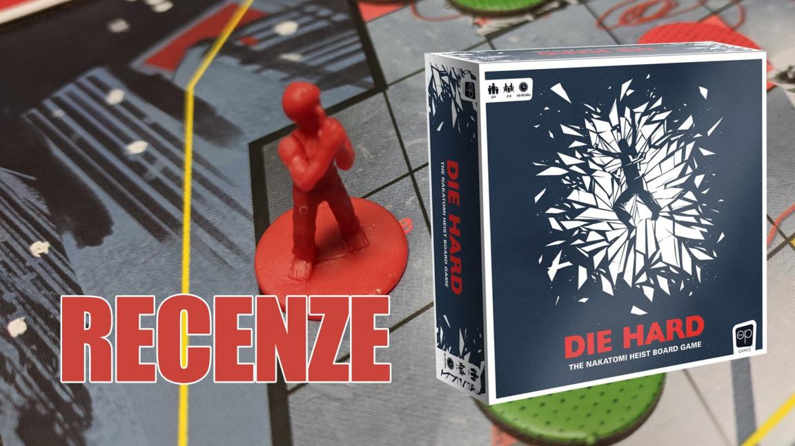 Deskovka Die Hard: John McClane ze Smrtonosné pasti si to zase rozdává s Hansem Gruberem