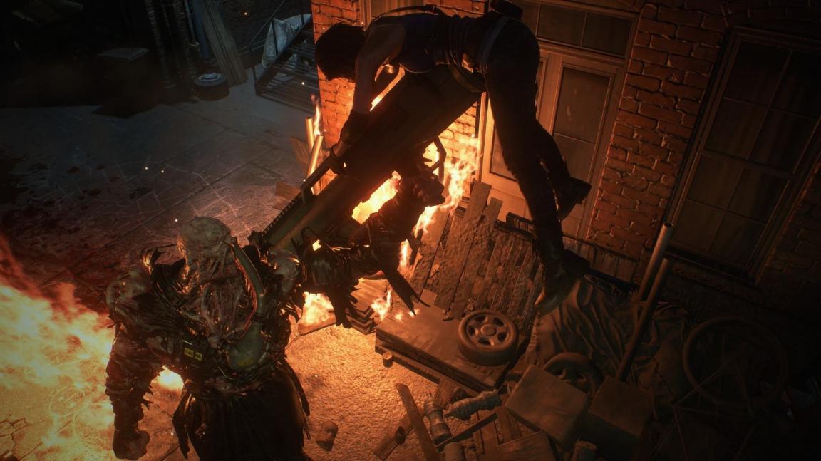 Přichází Nemesis. S remakem Resident Evil 3 startuje i asymetrický multiplayer Resistance