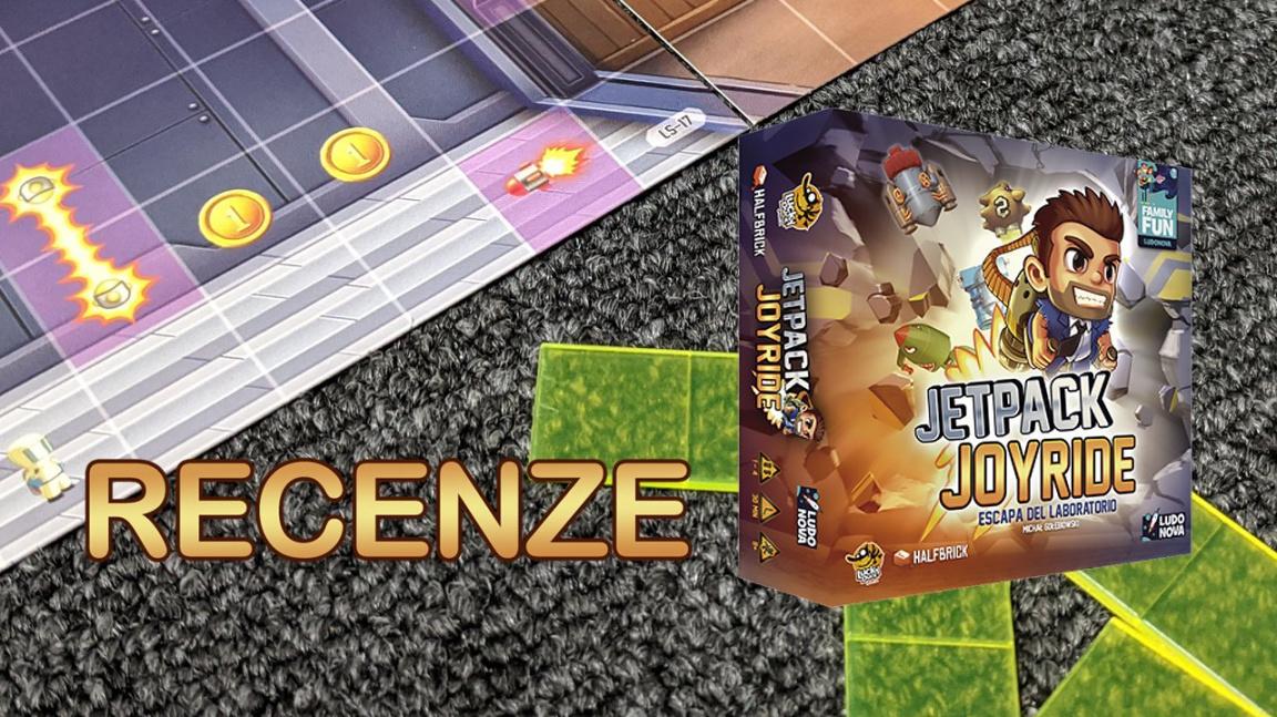 Deskovka Jetpack Joyride: Z obyčejné mobilní hry výborná společenská taškařice