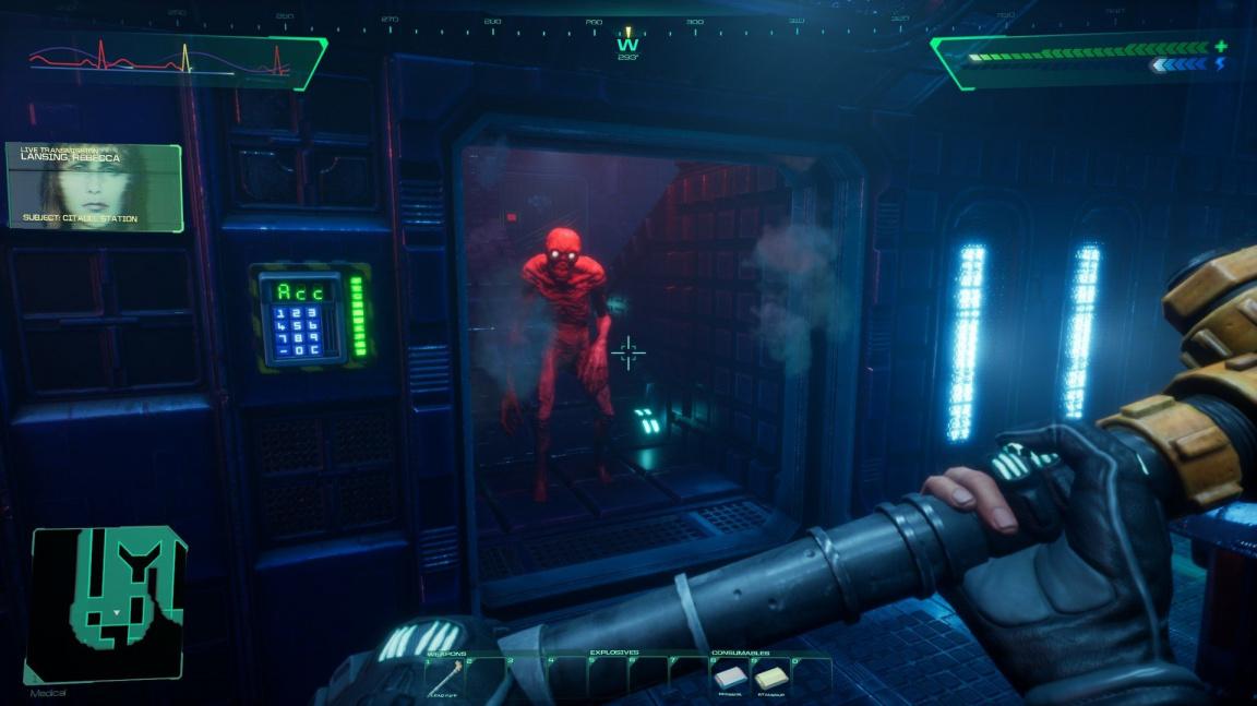 Remake System Shocku se předvádí v komentovaném demu