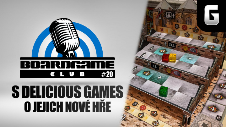 BoardGame Club #20: S Kateřinou Suchou o Delicious Games a jejich nové hře