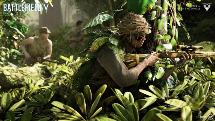 Battlefield V vás vezme do husté džungle Šalamounových ostrovů