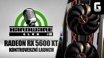Sledujte od 16:00 Hardware Club #48: Zpackané vydání Radeonu RX 5600 XT