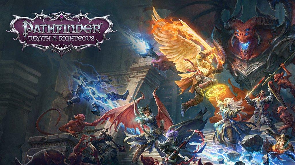 Pathfinder: Wrath of the Righteous vyjde i na konzolích. Nabídne gigantickou pevnost