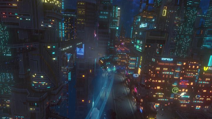 Staňte se kurýrem budoucnosti v nádherném kyberpunkovém Cloudpunku