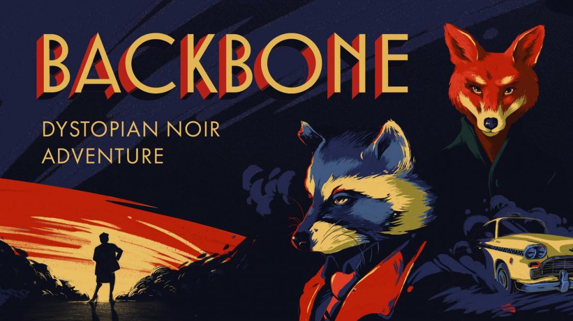 Vyzkoušejte demo noirové adventury Backbone s mývalím detektivem v hlavní roli