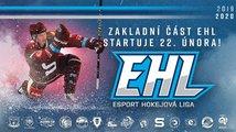 Draftovaní hráči vstupují do základní části Esport Hokejové Ligy