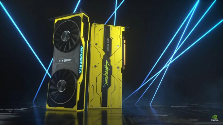 Limitovanou edici RTX 2080 Ti v designu Cyberpunk 2077 rozdá Nvidia fanouškům. Důvodem je asi odklad hry