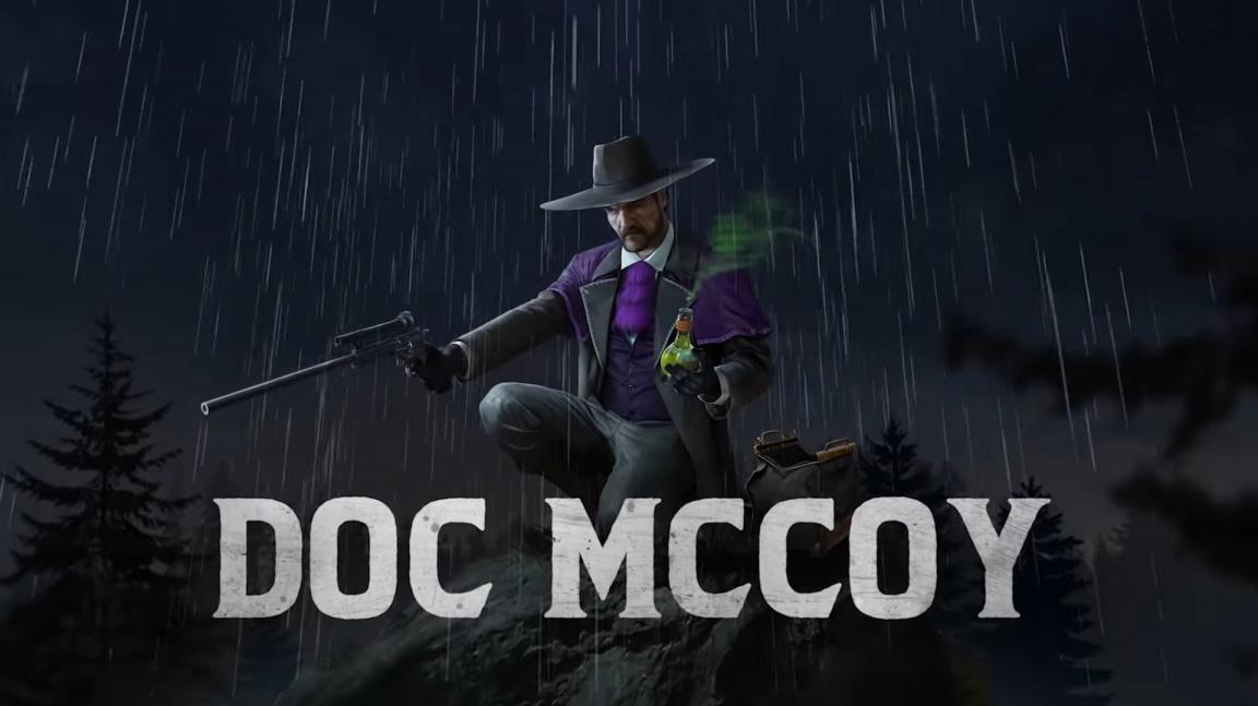 Tenhle lékař škodí zdraví. Desperados 3 představují Doca McCoye